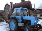 Экскаватор ЭО2621 на тракторе ЛТЗ 60