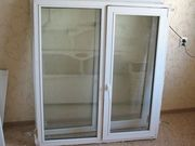 окна пластиковые продам два пластиковых окна после демонтажа,  поворотн
