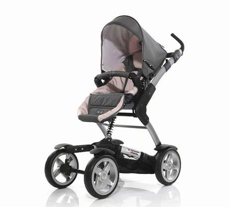 У нас универсальня коляска ABC Design 4 Tec.  Пользуемся с июня люлькой...