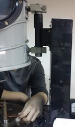 Подъёмный механизм колпака вакуумной установки УВР-3М