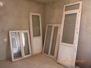 Пластиковые окна и двери б/у