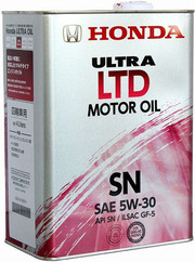 Продам моторное масло Honda Ultra LTD 5w30 SN