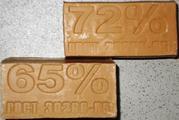 Производим натуральное хозяйственное  мыло.  65%. 72%.