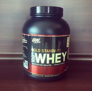Продам банку протеина Optimum Gold Standard 100% Whey