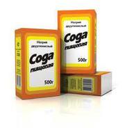Сода пищевая 500 гр/мешки 25-40 RU