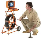 Телеинспекция труб канализации и вентиляции