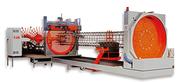 Сваенавивочная машина для сварки цилиндрических каркасов буронабивных свай