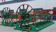 Станок для автоматической сварки каркасов дренажных труб МКСТ 400-2000