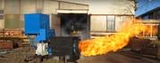 Горелка тепловая на биомассе ,  горелка на пеллете