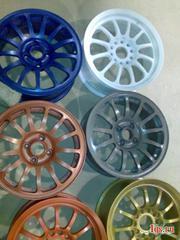 Порошковая покраска дисков и других деталей.
