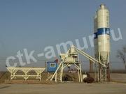 Бетонный завод HZS35 с силосом 70 т