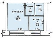 Продам 1-у квартиру со свободной планировкой в Томской области