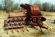 льноуборочный комбаин лкв-4а льнотрепальная машина тл-40а льноворошилк